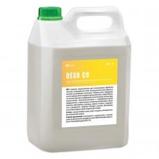 Антисептик кожный дезинфицирующий спиртосодержащий (70%) 5 л GRASS DESO C9, готовый раствор, 550055